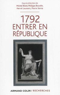 1792, entrer en République