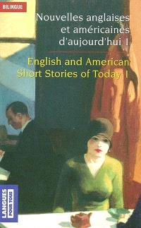 Nouvelles anglaises et américaines = English and American short stories. Volume 1