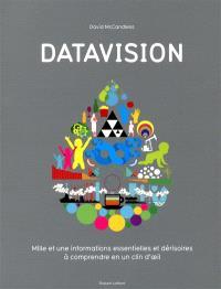 Datavision : mille et une informations essentielles et dérisoires à comprendre en un clin d'oeil