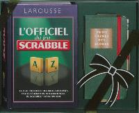 L'officiel du jeu Scrabble : le coffret prestige