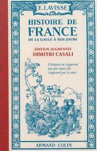 Histoire de France : de la Gaule à nos jours : cours élémentaire