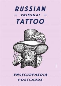 RUSSIAN CRIMINAL TATTOO ENCYCLOPAEDIA POSTCARDS /ANGLAIS