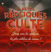 La boîte à répliques culte : jouez avec les répliques les plus célèbres du cinéma !