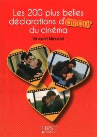 Les 200 plus belles déclarations d'amour du cinéma