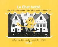 Le chat botté : un livre accordéon avec des décors et des découpes