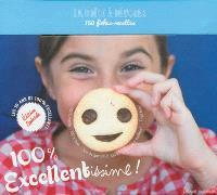 100 % excellentissime ! : la boîte à dévorer : 150 fiches-recettes