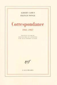 Correspondance : 1941-1957