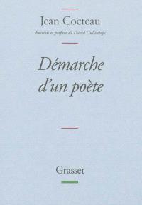 Démarche d'un poète