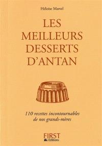 Les meilleurs desserts d'antan