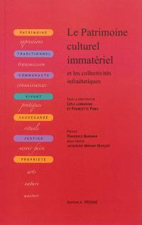 Le patrimoine culturel immatériel et les collectivités infraétatiques : dimensions juridiques et régulation