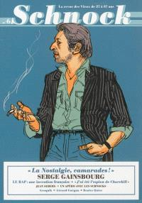 Schnock. n° 6, Serge Gainsbourg