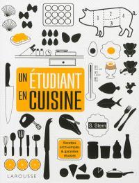 Un étudiant en cuisine