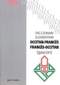 Diccionari elementari francés-occitan, occitan-francès (gascon)