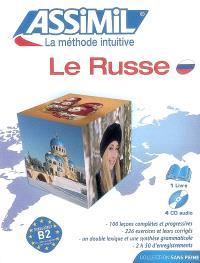 Le russe : niveau atteint B2 du Centre européen des langues : pack CD