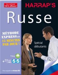Russe : méthode express : spécial débutants
