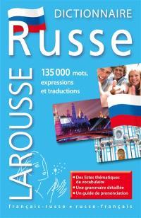 Dictionnaire russe : français-russe, russe-français