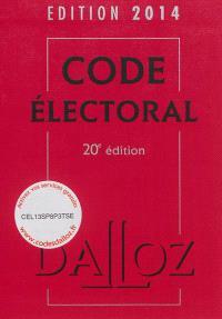 Code électoral 2014