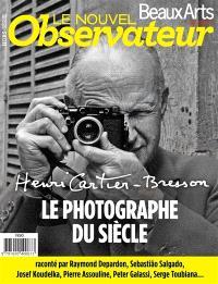 Nouvel observateur-Beaux-arts (Le), hors série. n° 4, Henri Cartier-Bresson, le photographe di siècle