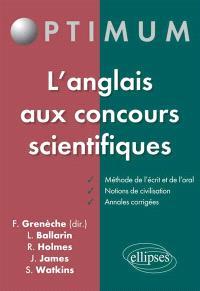 L'anglais aux concours scientifiques