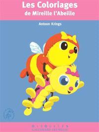 Les coloriages de Mireille l'abeille