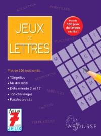 Jeux de lettres : plus de 300 jeux de lettres variés !