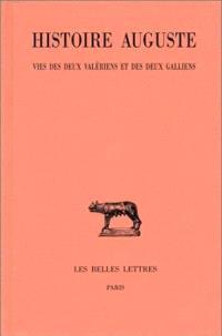 Histoire auguste. Volume 4-2, Vies des deux Valériens et des deux Galliens