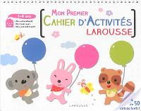 Mon premier cahier d'activités Larousse : 3-4 ans