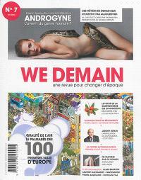 We demain : une  revue pour changer d'époque. n° 7