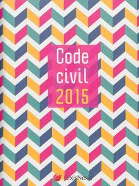 Code civil 2015 : jaquette graphic