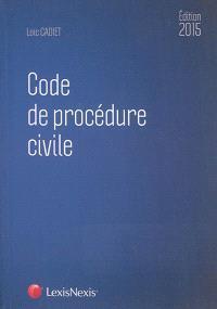 Code de procédure civile 2015