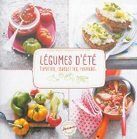 Légumes d'été : tomates, courgettes, poivrons...