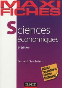 Maxi-fiches de sciences économiques