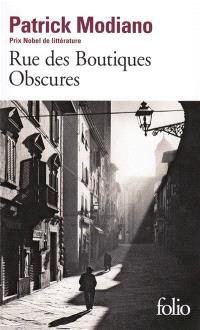 Rue des boutiques obscures