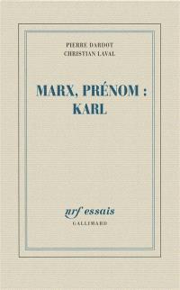 Marx, prénom Karl