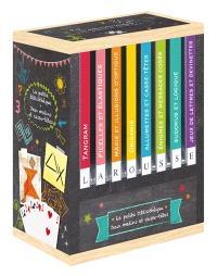 La petite bibliothèque jeux malins et casse-tête