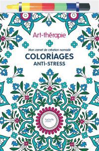 Mon carnet de création nomade : coloriages anti-stress