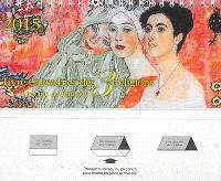 Livre-calendrier des 3 religions 2015 : portraits de femmes