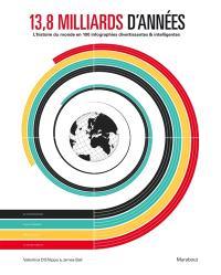 L'histoire du monde en infographie : 100 infographies divertissantes & intelligentes pour comprendre 13,8 milliards d'années