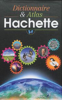 Coffret dictionnaire & atlas Hachette