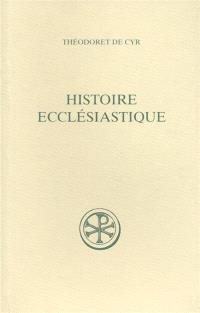 Histoire ecclésiastique. Volume 1, Livres I-II