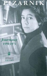 Journaux : 1959-1971