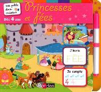 Princesses et fées : je dessine, j'écris, je compte