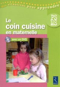 Le coin cuisine en maternelle, PS-MS