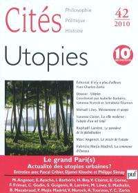 Cités. n° 42, Utopies