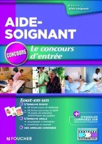 Aide-soignant : le concours d'entrée