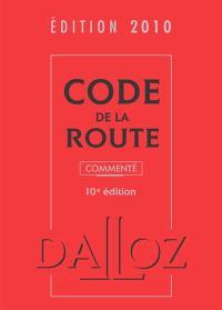 Code de la route : édition 2010