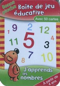 J'apprends les nombres : boîte de jeu éducative