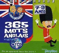 365 mots anglais illustrés : 7-9 ans
