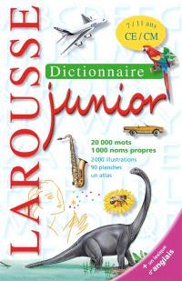 Dictionnaire Larousse junior, 7-11 ans, CE-CM