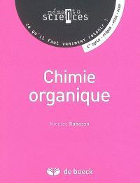 Chimie organique : 1er cycle, prépas, PCEM, PCEP